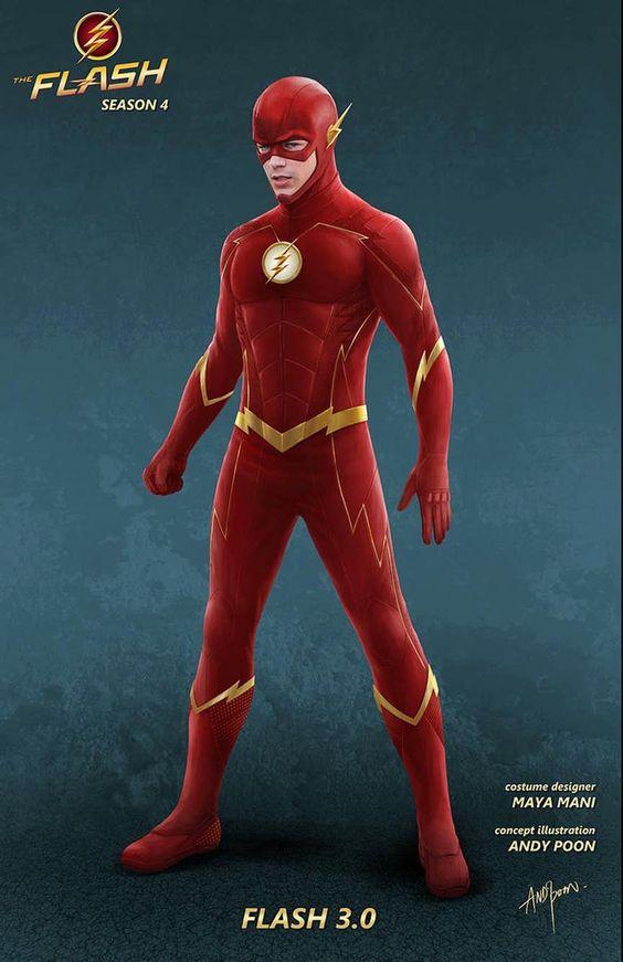 Captain Cold Flash Movie Concept Art