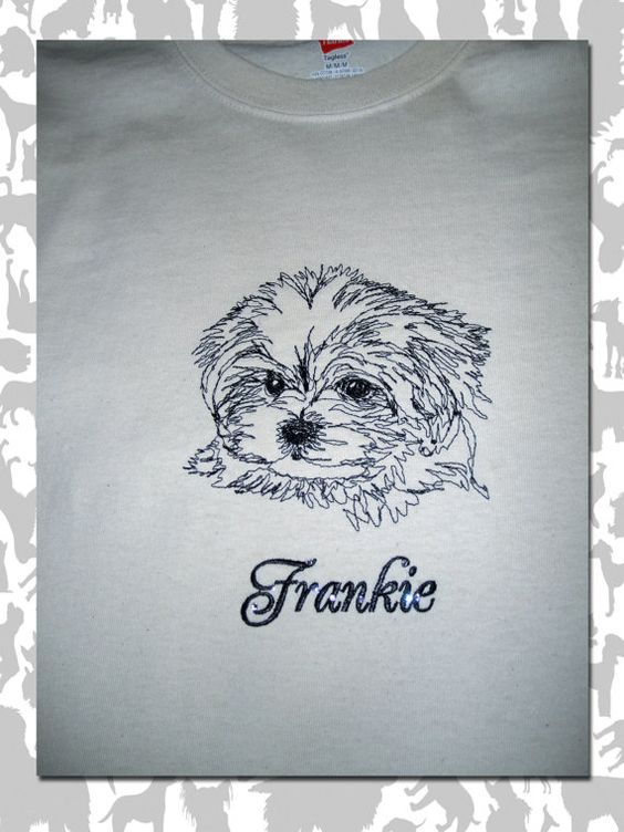 MALTESE PUPPY  /Maltese Lion dog / PUP by OneDogFashions on Etsy