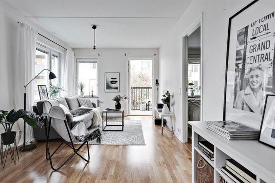 Un estupendo apartamento en Goteborg. Estilo nordico en estado puro.