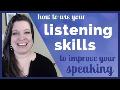 Use Your Listening Skills To Improve Your Speaking And Conversation Skills In English Youtube Conversation Skills Listening Skills Improve Your Vocabulary