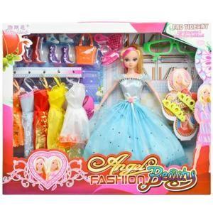 Poupée Barbie - CFF47 - Poupée Mannequin - Princesse Anni