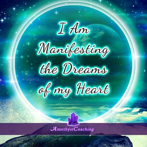 Today's Affirmation: I Am Manifesting The Dreams Of My Heart <3 #affirmation…