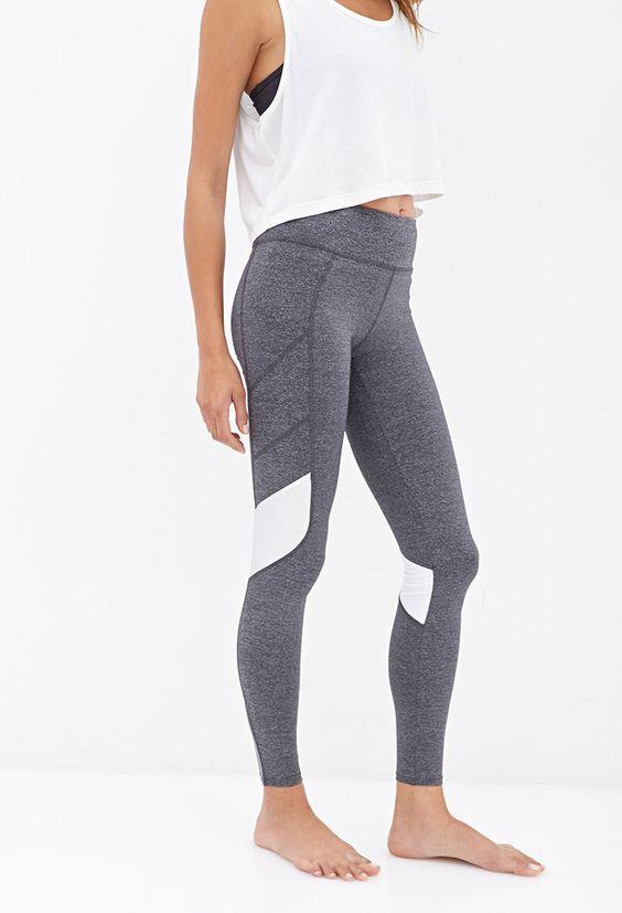 Colorblocked Performance Leggings #F21Active.. Fitness wear & fitspo