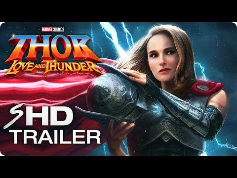 Thor Love And Thunder 2021 Teaser Trailer Concept Natalie Portman Chris Hemsworth Marvel Movie The Goddess Of Marvel Movies Chris Hemsworth Female Thor