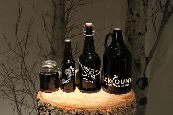 Backcountry Brew Company by Laura Lothrop, via Behance