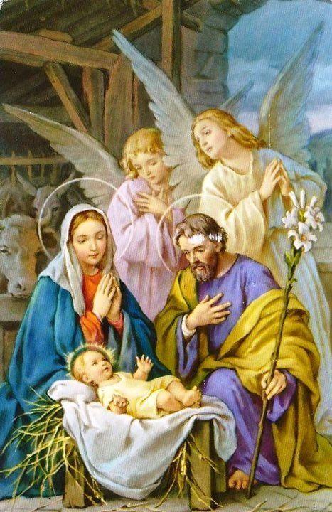 Kik vannak a képen? Miért volt fontos, hogy megszületett a kis Jézus?: