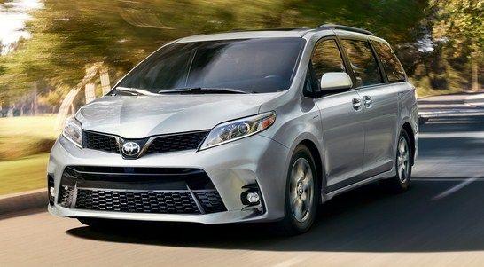 2020 Toyota Sienna Redesign Mini Van Toyota Sienna Honda Odyssey