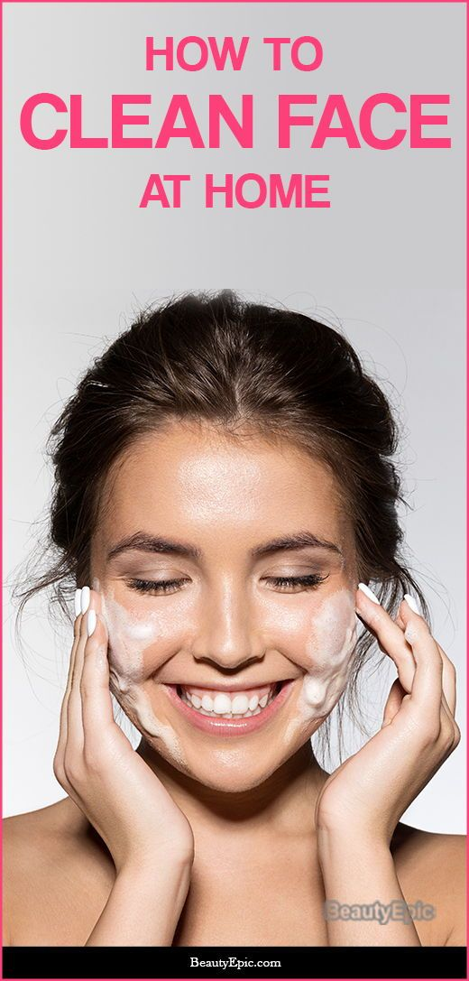 How To Clean Your Face At Home Best Tips Tricks Face Skin Care Face Skin Basic Skin Care Routine
