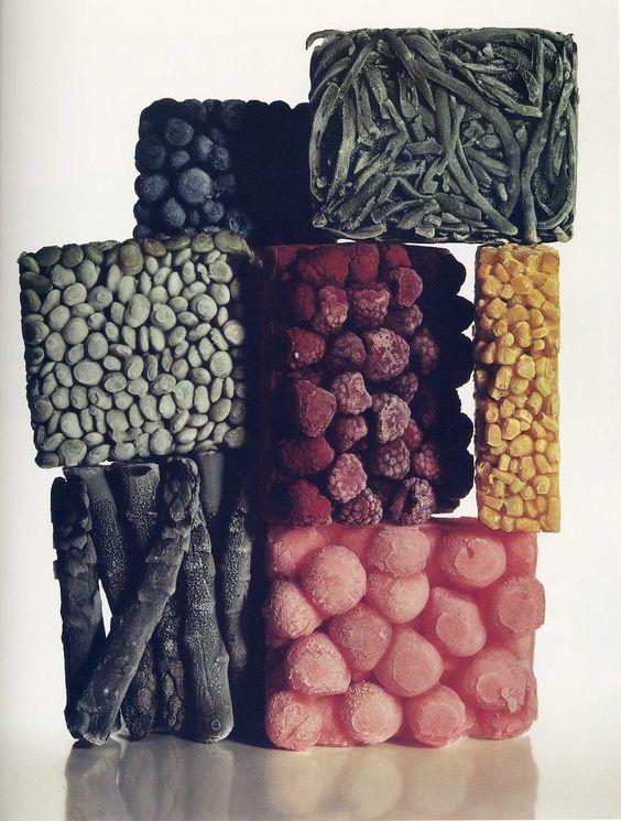 Irving Penn: Frozen Fruit, Penn Frozen, Food Styling, Food Network/Trisha, Irving Penn, Food Photography, New York, Frozen Foods, Food Art