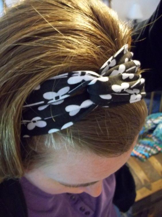 twisted headband 014