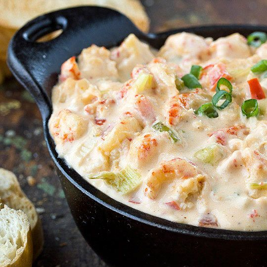 Crawfish Season has finally arrived! Can't wait to try this Creamy Crawfish Dip.