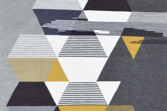 The sei/sei Carpet is the work of choreographer-turned-designer Carolina Melis. Born and based in Sardinia, Melis designs gorgeous, superfine rugs and wall hangings, which are all handmade by traditional local weavers in Sardinia using sustainable, naturally dyed wool.