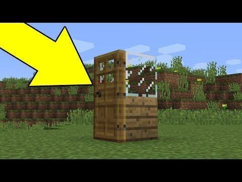 Cara Membuat Rumah 1x1 Di Minecraft No Mod No Addon No Command Minecraft Minecraft Mods Mod