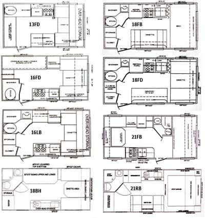 16 ft cozy travel trailer floor plan Wagon construction