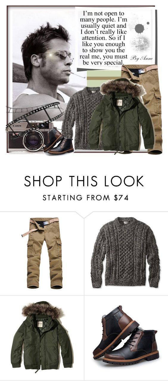 """""""Global Polyvore Community"""" by anne-977 ❤ liked on Polyvore featuring L.L.Bean, Hollister Co., men's fashion and menswear"""