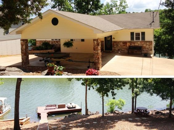 Move-in condition! Owner built in 1995, this 3 bedroom 3 bath home is immaculate, features 6 in walls, 18 in trusses between floors, BRAND NEW heat pump in 2013 & vinyl clad double pane windows in Cherokee Village AR