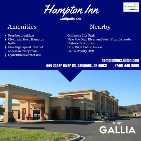 Gallipolis Hampton Inn Http Hamptoninn3 Hilton En Hotels Ohio Gplohhx Index Html Gallia County Lodging Pinterest
