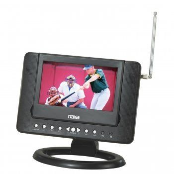 """Naxa NTD-7561 7-Inch Widescreen Digital LCD TV with Built-In DVD Player and USB/SD/MMC by Naxa. Save 33 Off!. $103.99. Naxa NTD-7561* 7"""" Widescreen TFT LCD Display* Resolution: 480 x 234* Built-in Full Function DVD Player* Built-in Digital ATSC TV Tuner* Reception Frequencies: 54MHz-803MHz* Built-in SD/MMC Card Slot* Built-in USB Input* Built-in Speakers* Selectable Screen Mode: Wide (16:9) or Normal (4:3) * Multi-language On Screen Display (OSD)* Digital Volume Control* Dig..."""