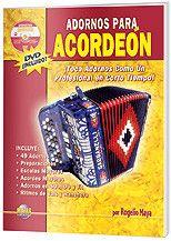 Adornos para Acordeón (Book & DVD)