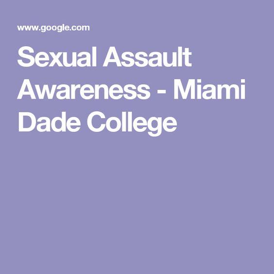 Sexual Assault Awareness - Miami Dade College