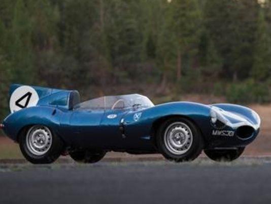 MONTEREY, Calif. -- A historic Jaguar that won the famed Le Mans race in the…