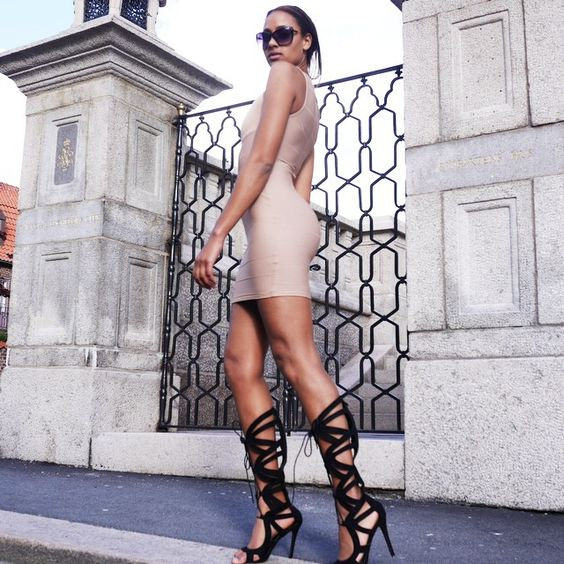 """""""Missguided girl #girl#fashion#dress#shoes#model#gothenburg#summer#pic#city"""""""