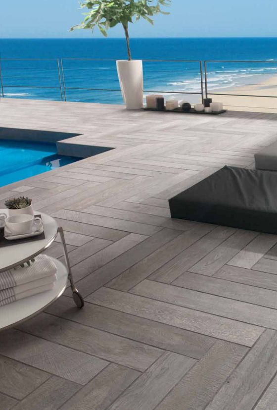 Porcelanosa par ker oxford antracita wood porcelain for Porcelanosa catalogue carrelage