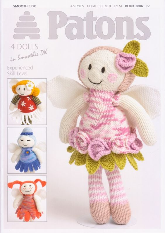 4 Dolls in Smoothie DK by Patons (3806) - One for the 'make list'.
