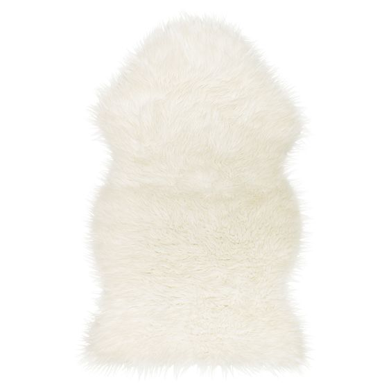 Love that Ikea finally has a faux sheepskin rug! 100% sheep friendly |  TEJN Faux sheepskin - IKEA