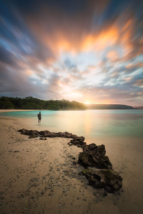 Playa Champagne, Isla de Espíritu Santo, Vanuatu