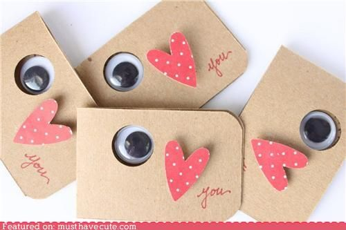 Eye love you. Cute Valentine idea.