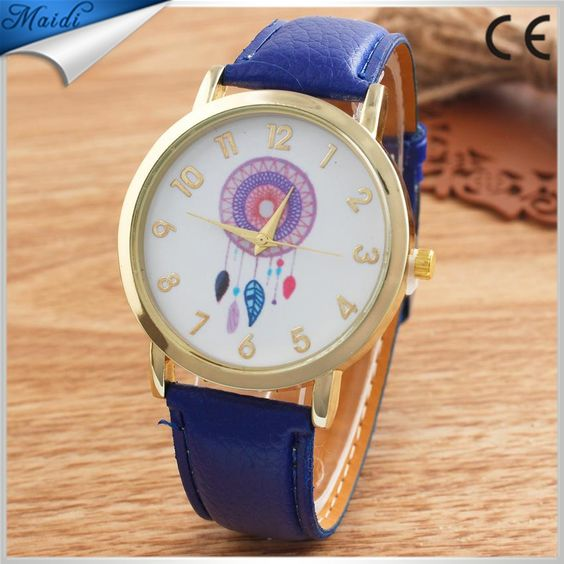 China Hot Fashion Creative Dreamcatcher Ladies Quartz Watches Women Wrist Watch 2015 Alibaba LW011