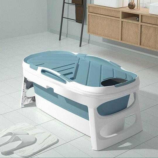 Portable Adult Foldable Bathtub Collapsible Stand Alone Spa In 2020 Stand Alone Tub Portable Bathtub Bathtub