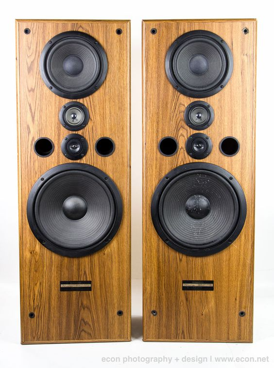 stereo speakers sounds great and vintage on pinterest. Black Bedroom Furniture Sets. Home Design Ideas