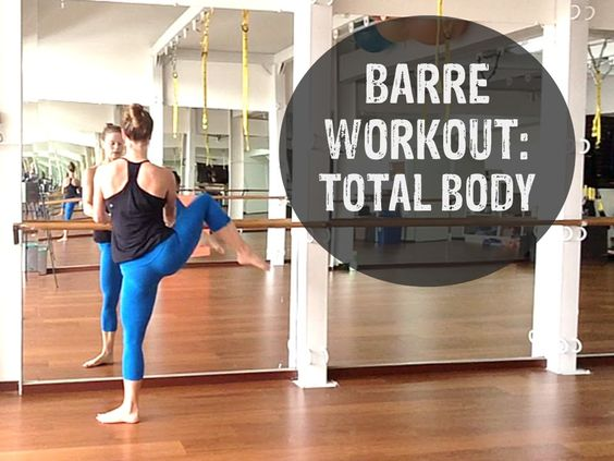 For anyone who thought barre was easy...complete this workout without taking a break! Barre Workout Video - FREE 40 Minute Barre Workout Video At Home