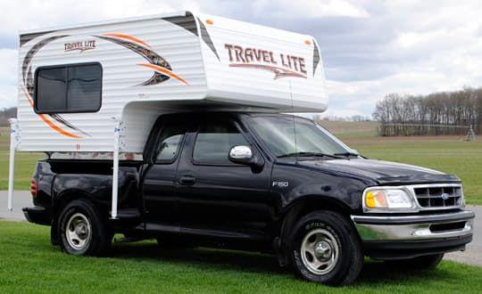 2016 Travel Lite 625 Super Lite Truck Camper Lightweight