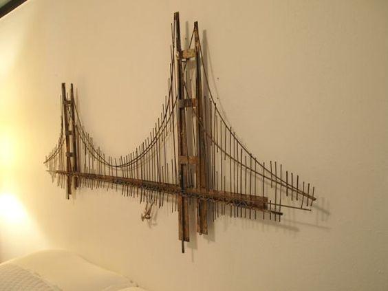 c jere golden gate bridge metal art design life pinterest golden gate bridge bridges and. Black Bedroom Furniture Sets. Home Design Ideas