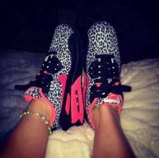 zapatillas air max de leopardo