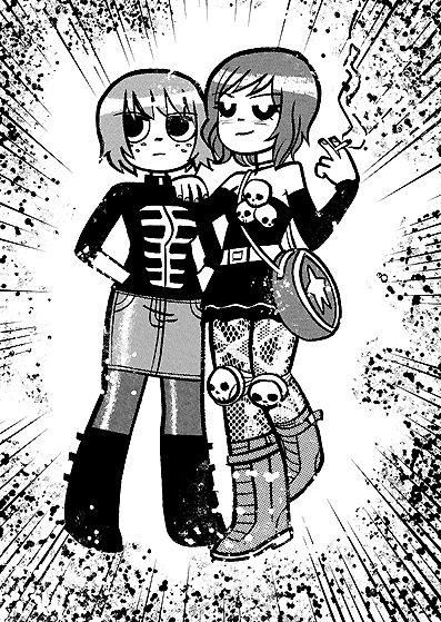 Ramona Flowers Outfits Comic