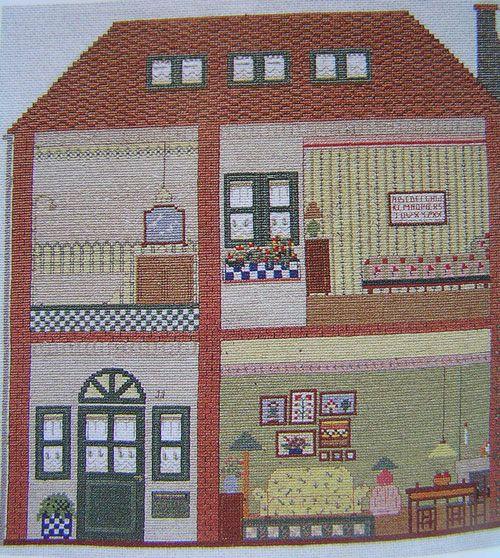 Punto de cruz on pinterest - Labores de casa ...