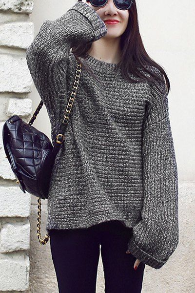 Over-size sweater