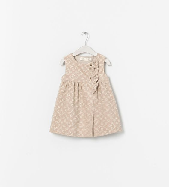 ZARA - KIDS - BABY CORDUROY DRESS
