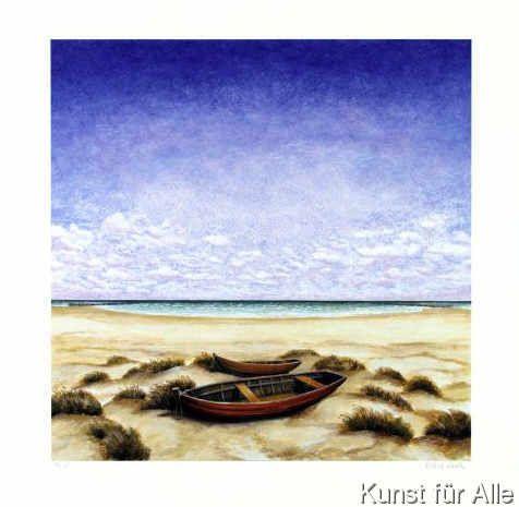 Folkert Rasch - Boote am Meer (2001)