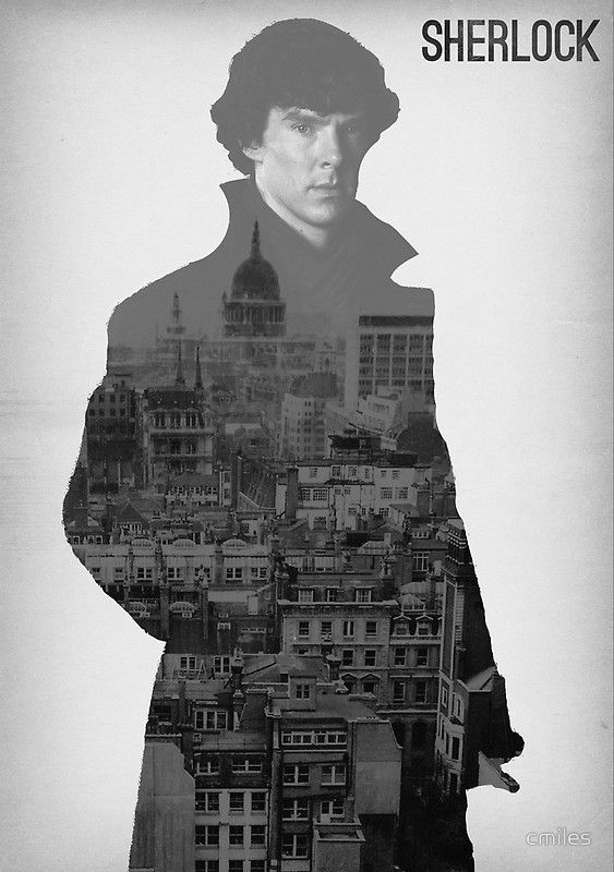 BBC Sherlock Poster  by cmiles