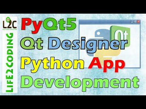 Create Python Gui Application Using Pyqt5 Designer With Python 3 6