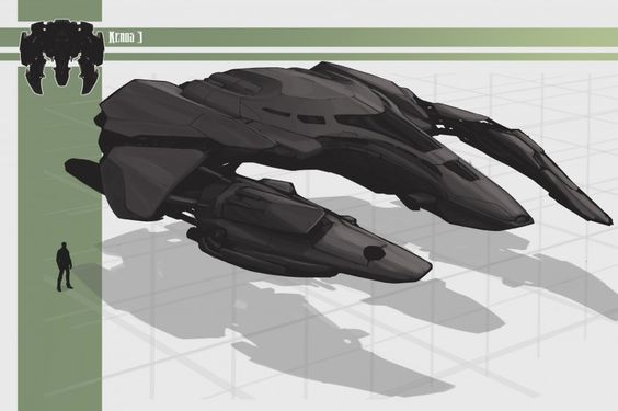 Check out Galaxy Wars new Concept Art for Kenos Spaceships!!!