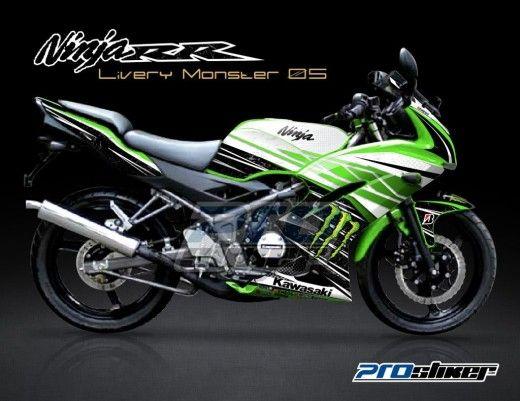 ninja rr warna hijau terbaru