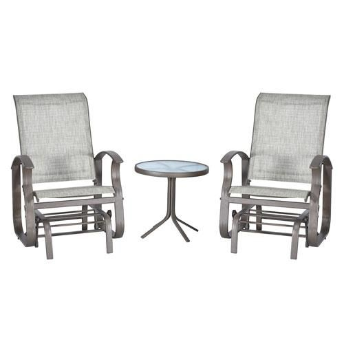 Strange Andrea 3 Piece Glider Set Hy Vee Aisles Online Grocery Andrewgaddart Wooden Chair Designs For Living Room Andrewgaddartcom