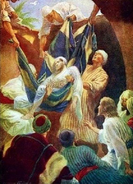 """Jézus pedig látva a hitüket, így szólt a bénához: """"Fiam, megbocsáttattak a bűneid."""" (Márk 2,5)"""