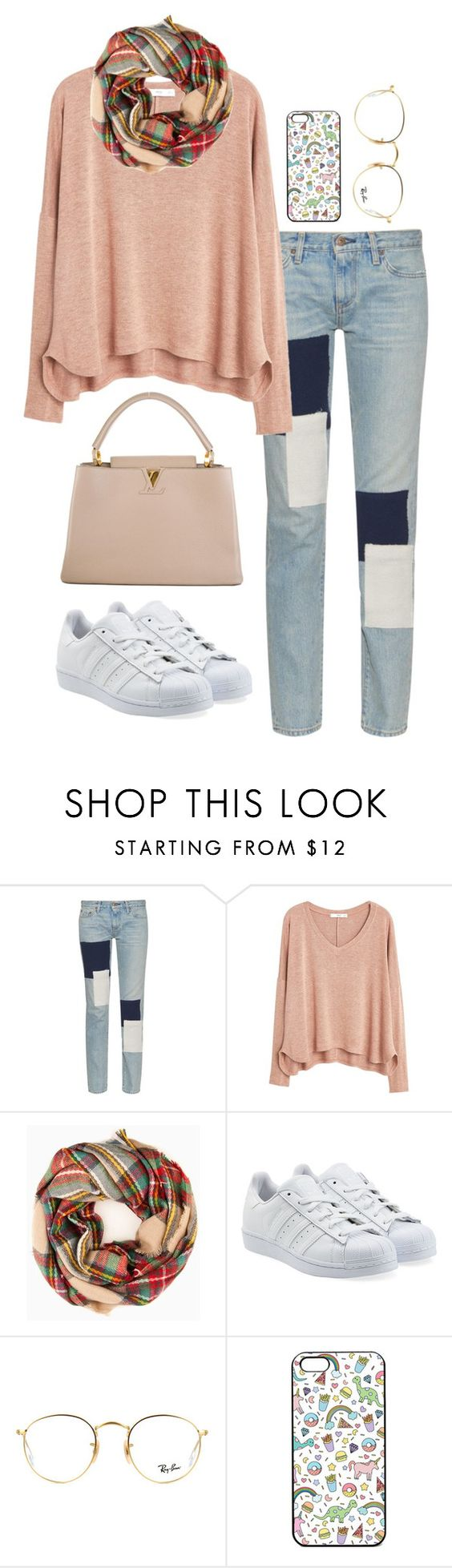 """""""Sin título #220"""" by famousstyles-dp ❤ liked on Polyvore featuring Simon Miller, MANGO, adidas Originals, Ray-Ban and Louis Vuitton"""